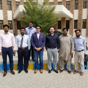 Nauman Khan Azeemi Seminar Student Comsats Motivation