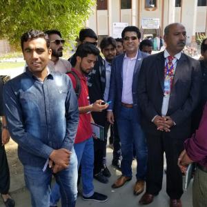 Nauman khan Azeemi Seminar Nust Students