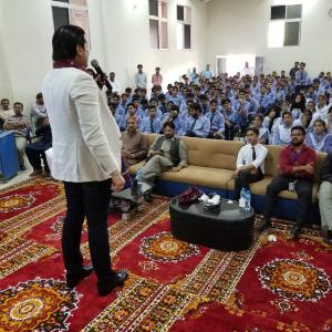 Nauman Khan Azeemi Seminar Motivational Students